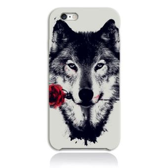 coque iphone 8 plus loup