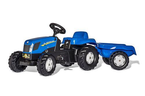 Tracteur a pedales + remorque
