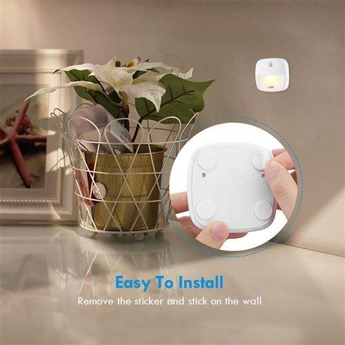 Veilleuse Murale Led Gblife Lampe Detecteur De Mouvement Lampe