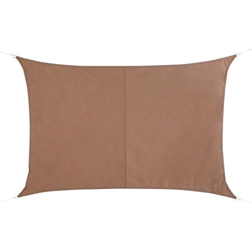 Voile d'ombrage Curaçao 3x4 m taupe