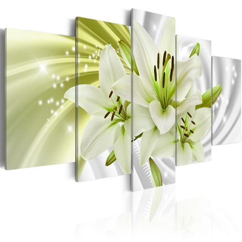 Tableau - green glow - artgeist - 100x50