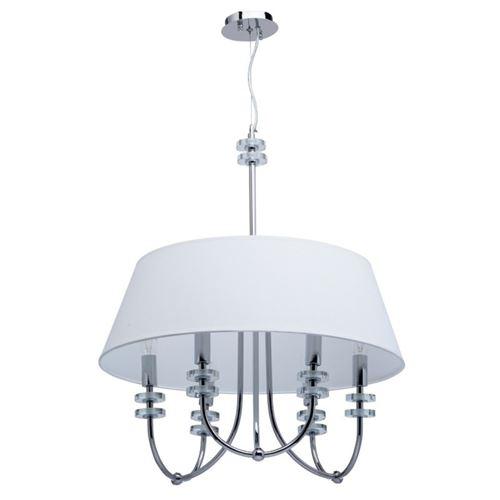 Paris Prix - Lampe Suspension Design palermo 145cm Blanc
