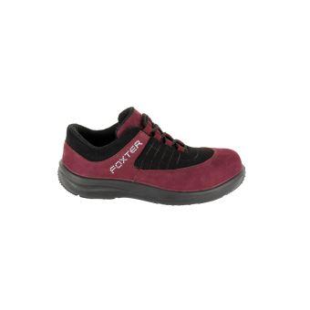 revendeur da7dd d9df1 FOXTER - Chaussures de securité Basse Ruby - Confort - Légere et repirante  - Femme - Cuir - S1P Taille 37