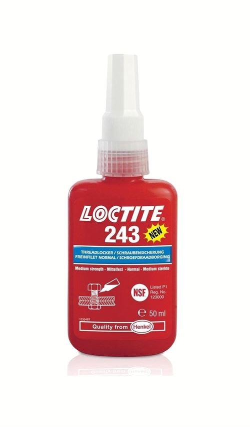 Loctite fil de liant 243 rouge 50 ml
