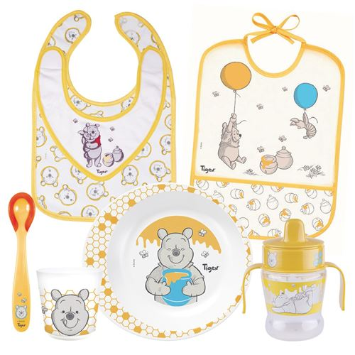 TIGEX Les essentiels du repas Winnie l'Ourson pour bébé