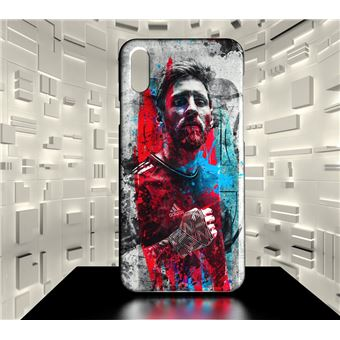 iphone x coque football messi