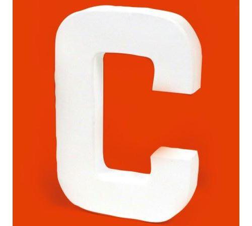 Lettre en carton C