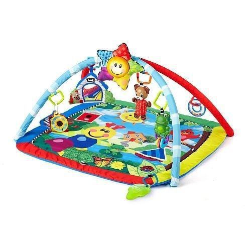 baby einstein tapis d'éveil caterpillar & friends play gym™ activity gym