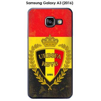 Coque Samsung Galaxy A3 (2016) - A310F design Foot Belgique fond drapeau