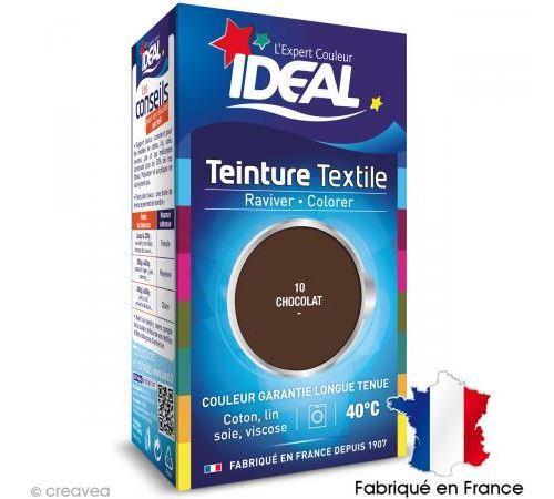 Teinture Tissu Idéal liquide chocolat 10 mini