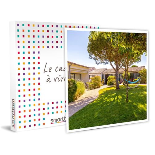SMARTBOX - Séjour détente de 3 jours en hôtel 4* en duo avec séance de spa - Coffret Cadeau