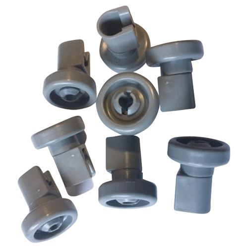 Lot de 8 roulette panier sup Lave-vaisselle 50269970005 ZANUSSI, FAURE, AEG, ARTHUR MARTIN ELECTROLU