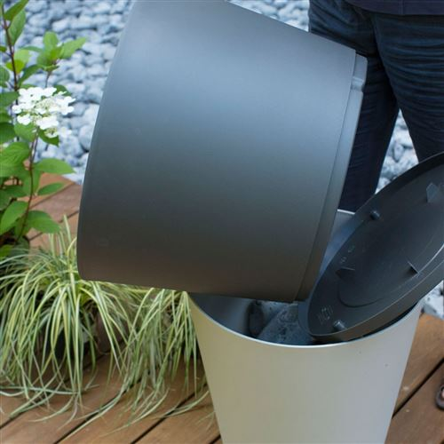 Pot de fleur design tokyo 50 grosfillex