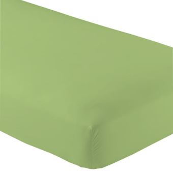 drap housse jersey 180x200cm avec bonnet de 30cm couleur vert clair dv 100pourcentcoton achat. Black Bedroom Furniture Sets. Home Design Ideas