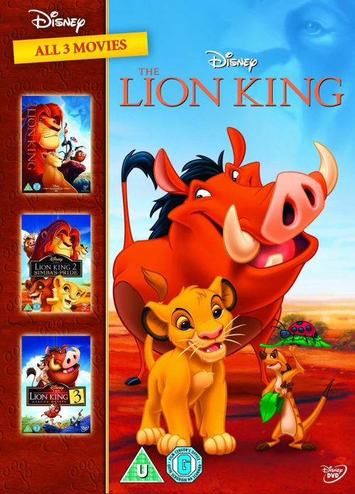 Le Roi Lion 1-3 DVD Box Set