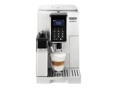 De'Longhi DINAMICA ECAM 353.75.W - Machine à café automatique avec buse vapeur \