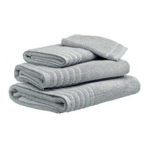 Drap de douche Uni Silver gris 70 x 130 cm Les Ateliers du Linge