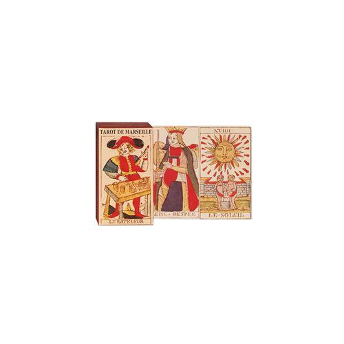 PIATNIK Jeu divinatoire TAROT DE MARSEILLE Multicolore