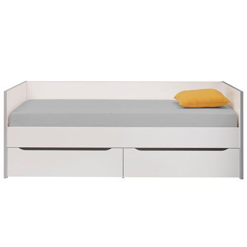 Lit banquette 2 tiroirs 90*200 cm - JEWEL