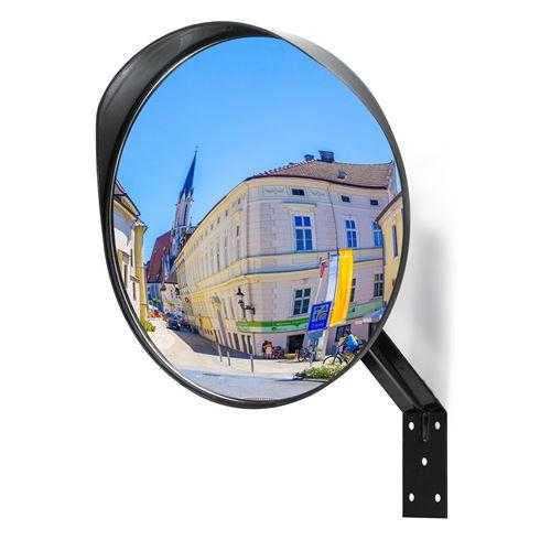Miroir de sécurité - OneConcept Convexe - Ø 30 cm - Antichoc et résistant aux intempéries