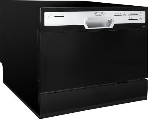 Brandy Best FLASH6N - Lave-vaisselle - pose libre - largeur : 55 cm - profondeur : 50 cm - hauteur : 43.8 cm - noir