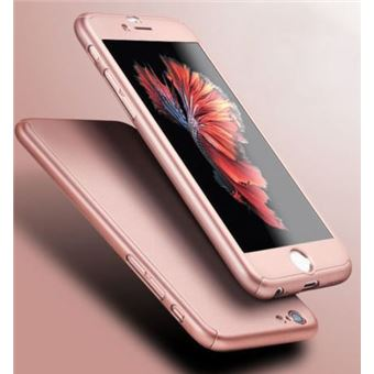 coque iphone 7 rose 360