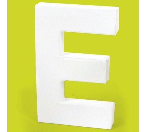 Lettre en carton E