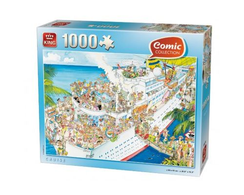 Puzzle 1000 Pièces : Comic Collection - Cruise, King International