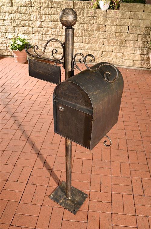 Boîte aux lettres Charlize , Bronze