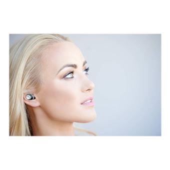 Nuheara IQbuds - Werkelijk draadloze koptelefoon met micro - inwendig - Bluetooth - actieve geluidsdemping