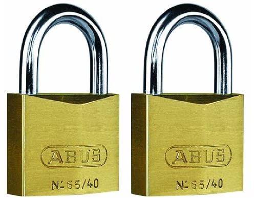 ABUS 65/40 Lot de 2 cadenas