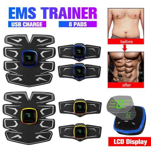 Affichage LCD équipement D'entraînement Musculaire Stimulateur Musculaire électrique Massage Du Corps Minceur