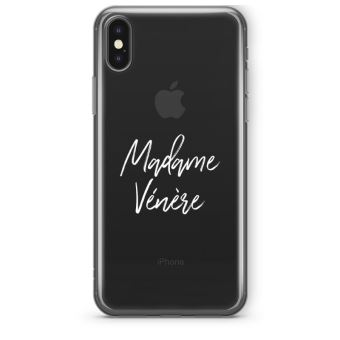 coque iphone xs madame