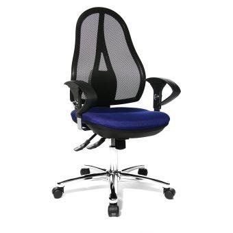 Topstar OP290UG26 Open Point SY Deluxe Chaise De Bureau Bleu 48 X 111 Cm
