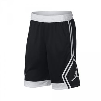 Short Jordan Rise Diamond Basketball Noir Pour Hommes taille