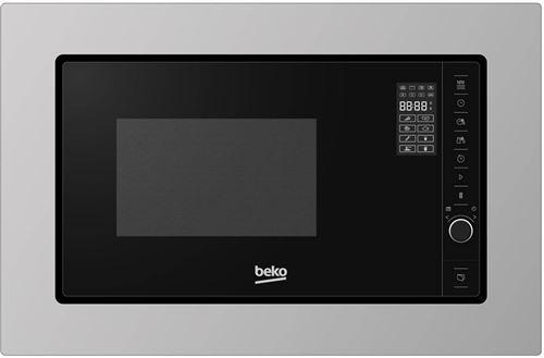 Beko MOB20231BG - Four micro-ondes monofonction - intégrable - 20 litres - 800 Watt - acier inoxydable