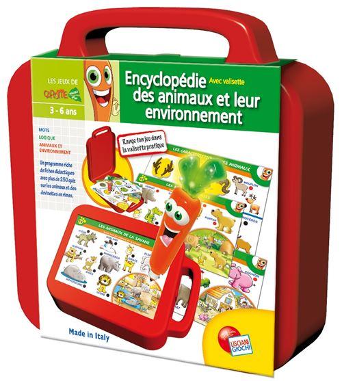 Valisette Encyclopédie Des Animaux Lisciani
