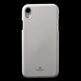 coque iphone xr paillette blanc
