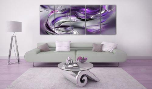 Tableau - Purple Gale .Taille : 200x80