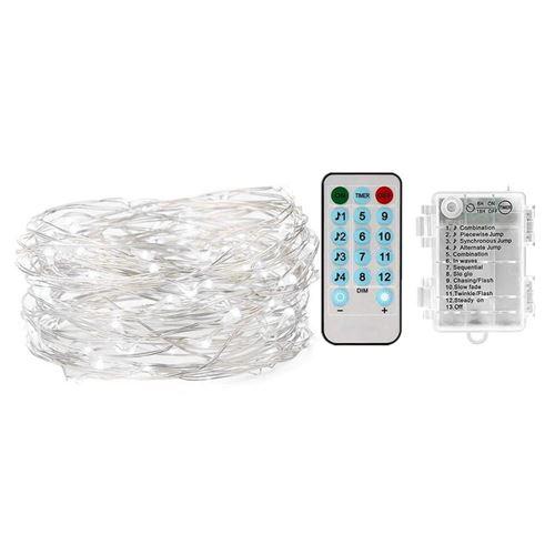 10M Guirlande lumineuse LED lampe de contrôle à distance (couleur)