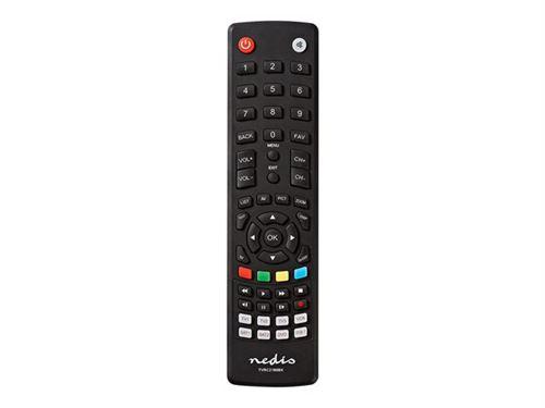 Nedis TVRC2180BK - Télécommande universelle - infrarouge - noir