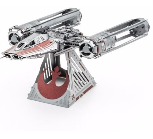 Metal Earth kit de construction Star Wars Y-Wing Fighter de Zorii