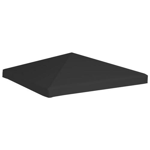 Toile de Toit de Belvédère 270 G/M² 3X3 M - Noir