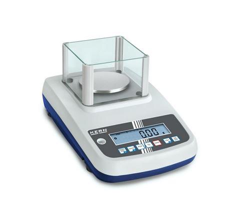 Kern - Balance de précision portée max. 600 g plateau ∅ 120 mm avec chambre de protection sans interfaces de données - EWJ600-2SM