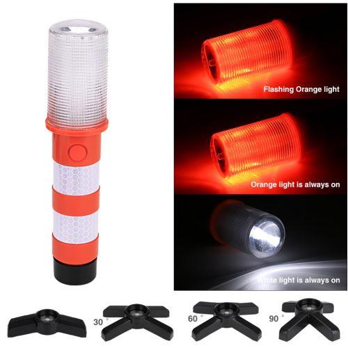 LED Strobe d'avertissement de sécurité clignotant Flicker Road Light lampe de poche pour la sécurité Wa Kiliaadk386