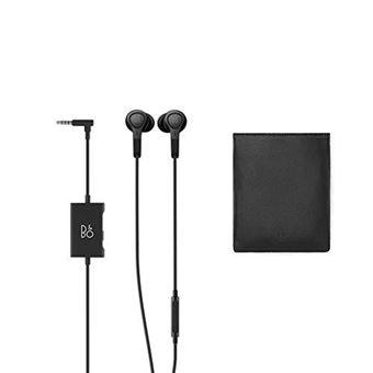 Bang & Olufsen Beoplay E4 - In-ear hoofdtelefoons met micro - inwendig - met bekabeling - actieve geluidsdemping - 3,5 mm-stekker - zwart