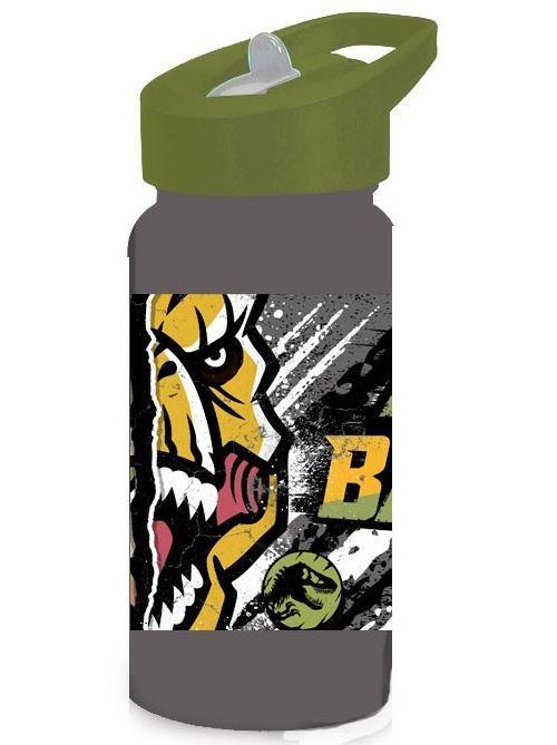 Diakakis gourde Jurassic Worldjunior 500 ml gris/vert