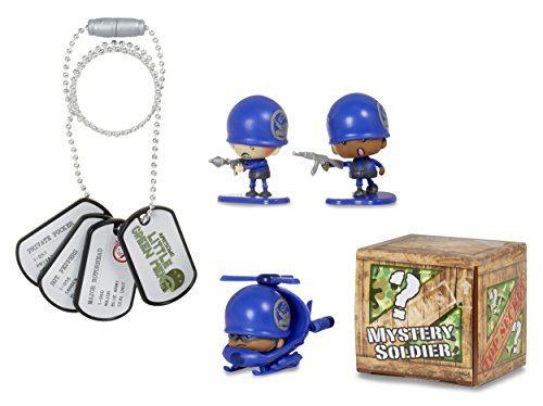 Little Green Men 4 Starter Pack, série 1 figurines d'équipe scellée