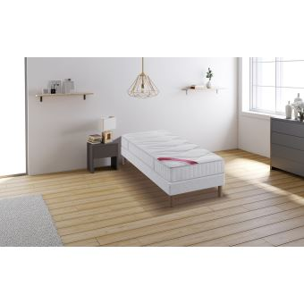 451 sur relaxima hemisphere ensemble sommier matelas m moire de forme dunlopillo 90x190. Black Bedroom Furniture Sets. Home Design Ideas