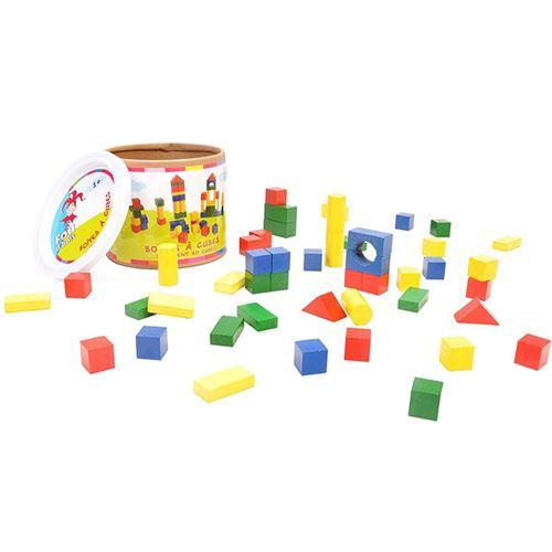Baril de 50 cubes en bois